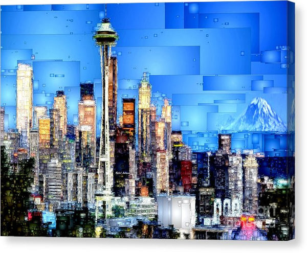 Canvas Print - Seattle, Washington