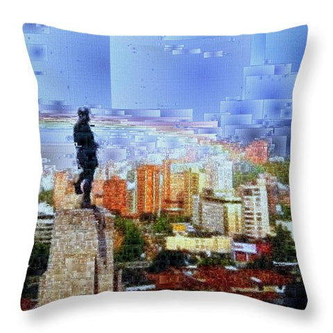 Sebastian De Belalcazar - Throw Pillow