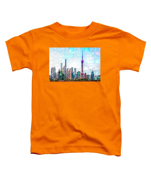 Toddler T-Shirt - Shanghai, China