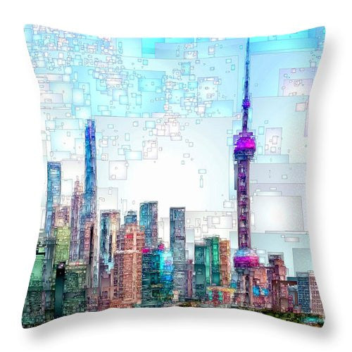 Throw Pillow - Shanghai, China