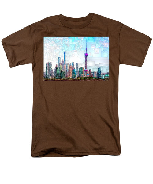 Men's T-Shirt  (Regular Fit) - Shanghai, China