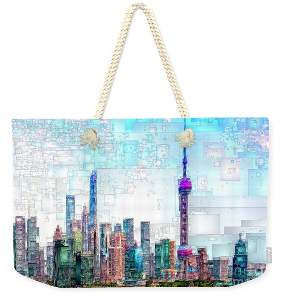 Weekender Tote Bag - Shanghai, China