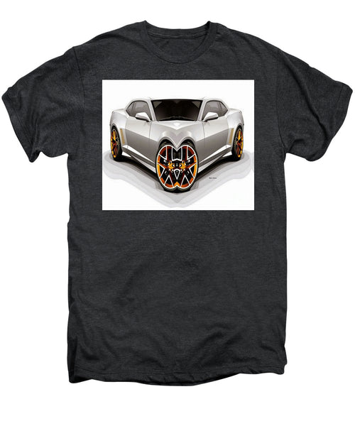 Men's Premium T-Shirt - Silver Car 008
