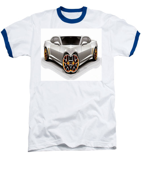 Baseball T-Shirt - Silver Car 008