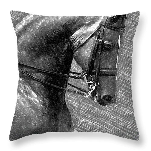 Throw Pillow - Silverado