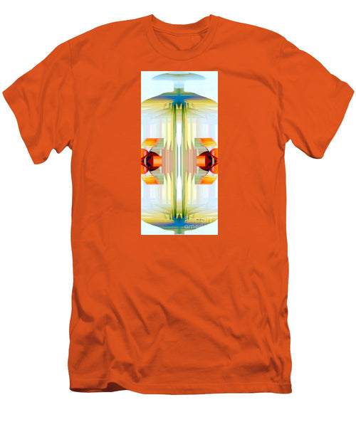 Men's T-Shirt (Slim Fit) - Spin Abstract