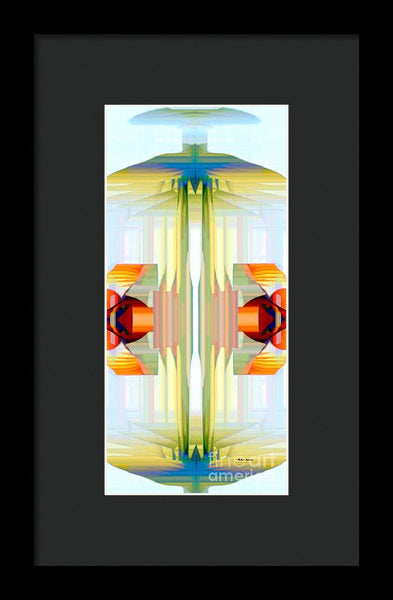 Framed Print - Spin Abstract