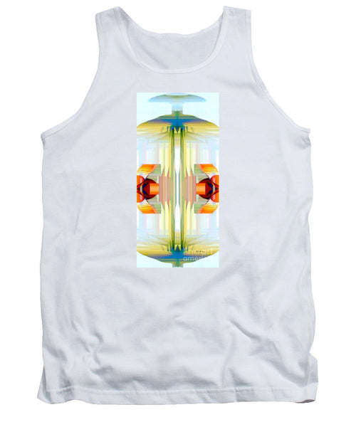 Tank Top - Spin Abstract