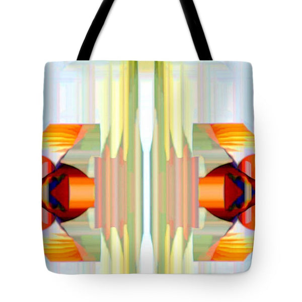 Tote Bag - Spin Abstract
