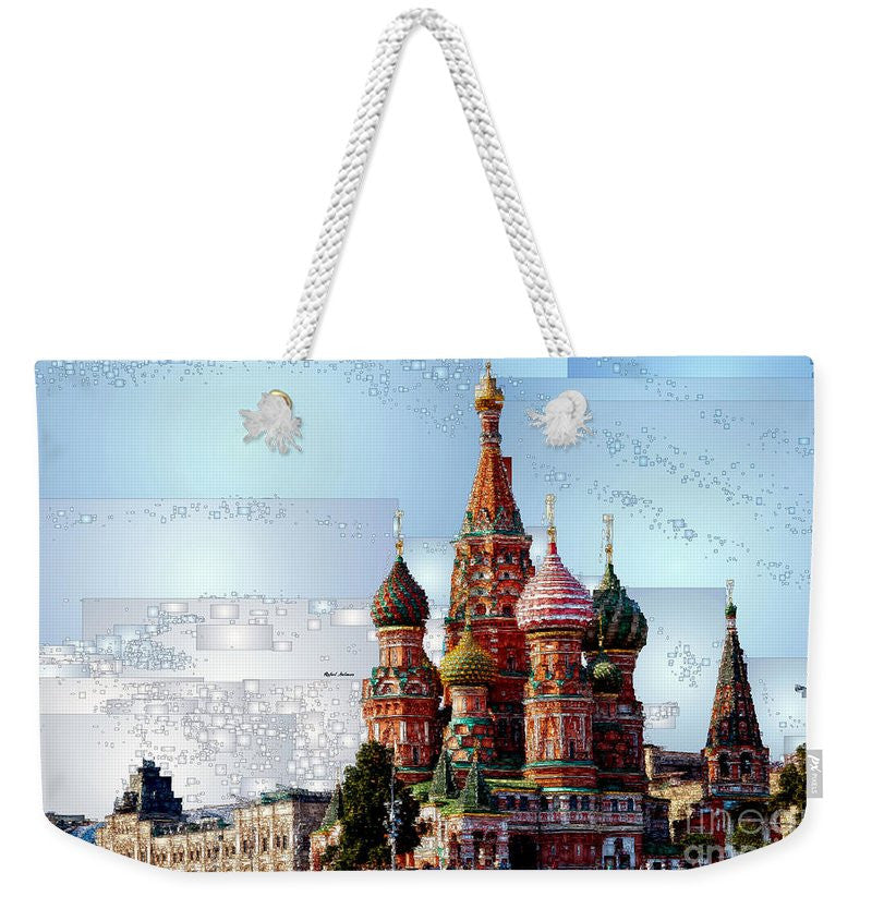Weekender Tote Bag - St. Basil's Cathedral In Moscow