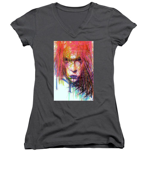 Women's V-Neck T-Shirt (Junior Cut) - Standout Look
