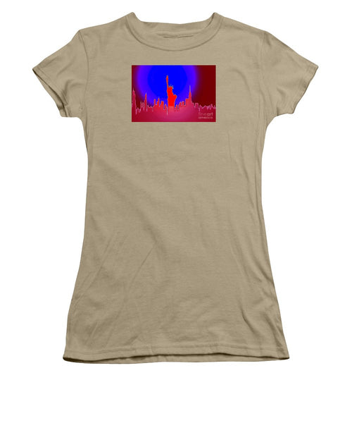 Women's T-Shirt (Junior Cut) - Statue Of Liberty Enlightening The World