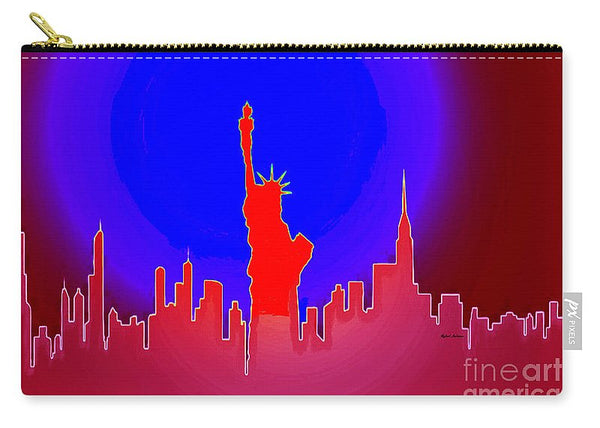 Carry-All Pouch - Statue Of Liberty Enlightening The World