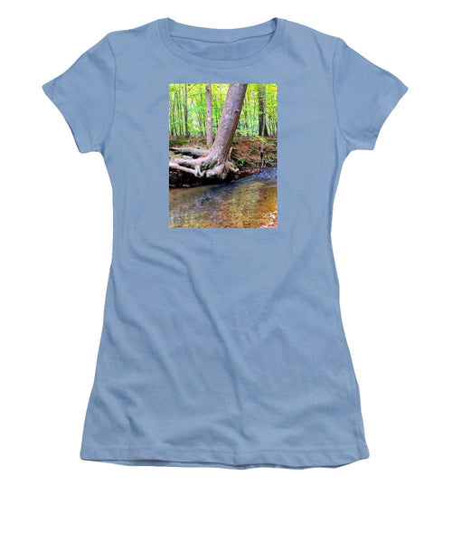Women's T-Shirt (Junior Cut) - Still Standing Tree