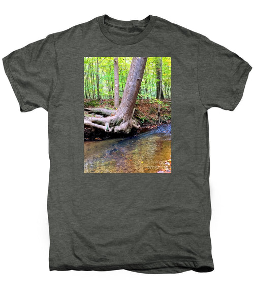 Men's Premium T-Shirt - Still Standing Tree