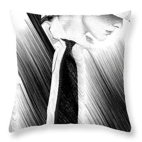 Style In Black And White 2018 - Throw Pillow