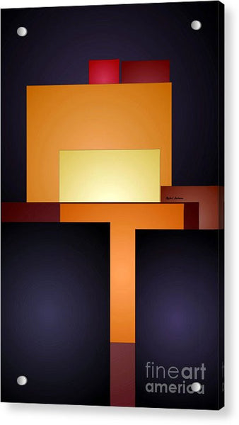 Acrylic Print - T Abstract