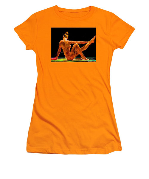 Women's T-Shirt (Junior Cut) - Taking Care Of Number One