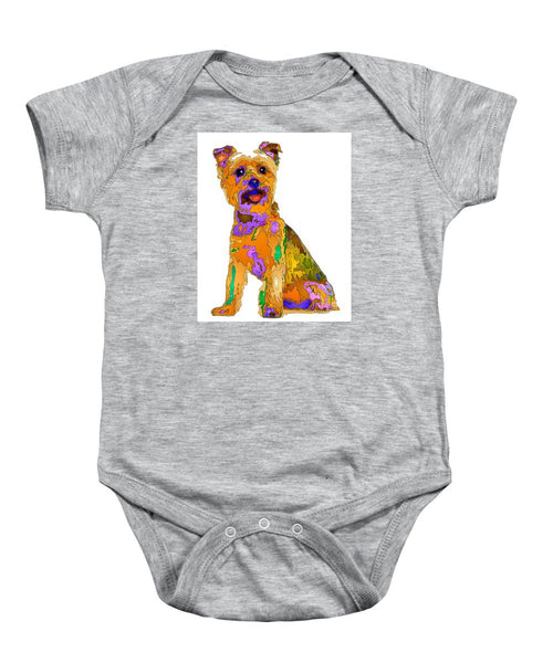 Baby Onesie - The Best Dog. Pet Series