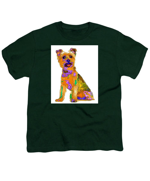 Youth T-Shirt - The Best Dog. Pet Series