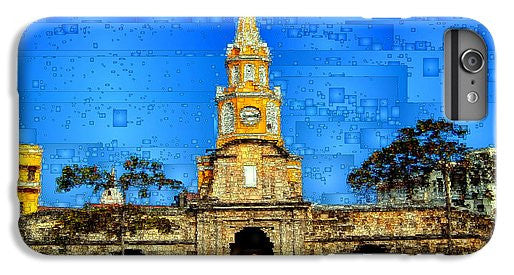 Phone Case - The Gate And Clock Tower In Cartagena Colombia