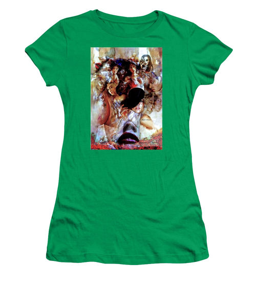 Women's T-Shirt (Junior Cut) - Thru The Times