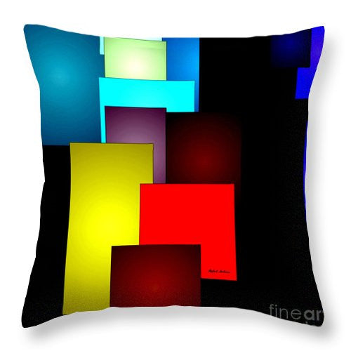 Throw Pillow - Timeless Squares
