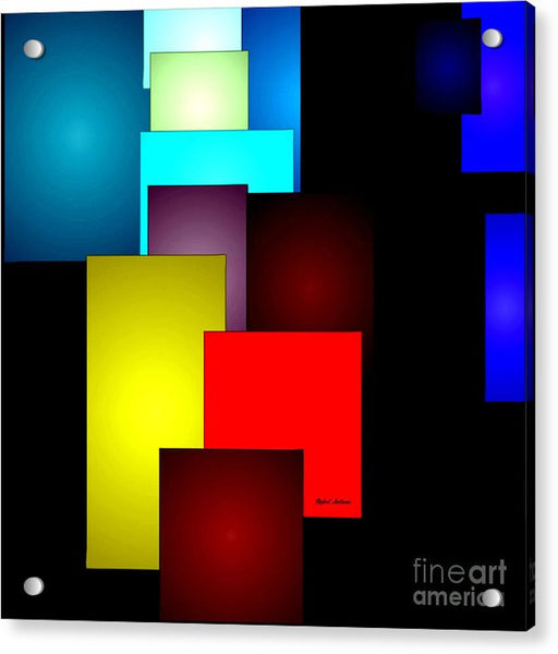 Acrylic Print - Timeless Squares