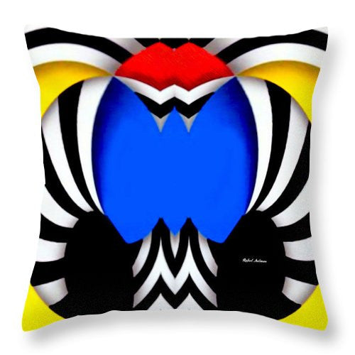 Throw Pillow - Tribute To Colombia