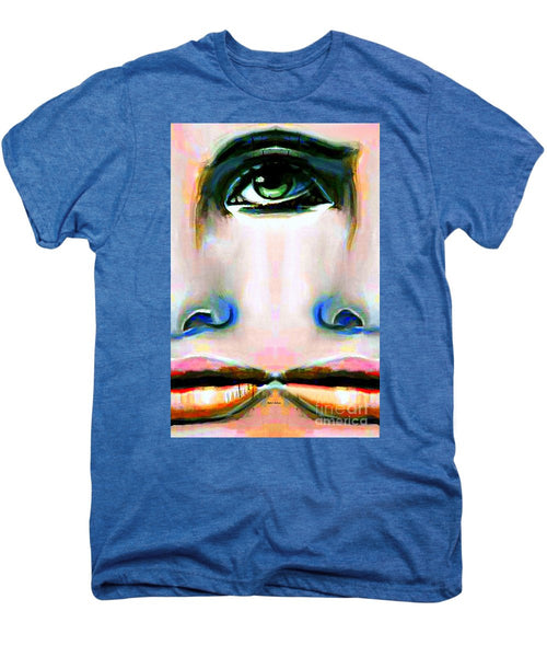 Men's Premium T-Shirt - Two Faces Of A Coin