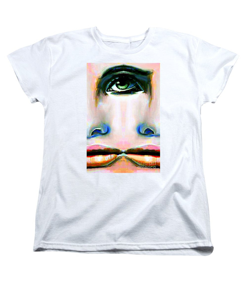 Women's T-Shirt (Standard Cut) - Two Faces Of A Coin