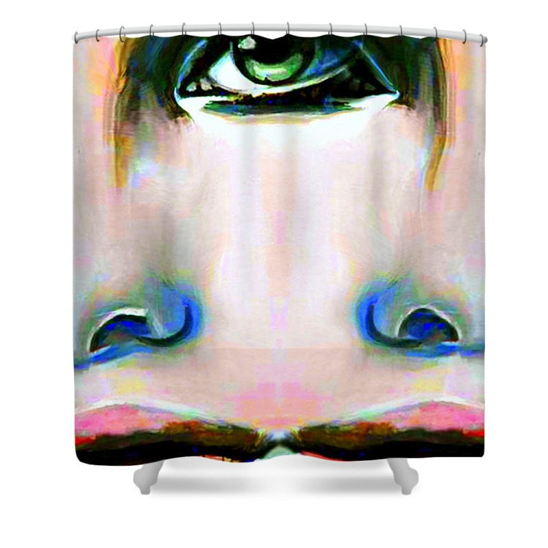 Shower Curtain - Two Faces Of A Coin
