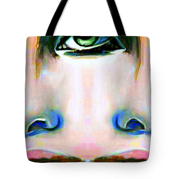 Tote Bag - Two Faces Of A Coin