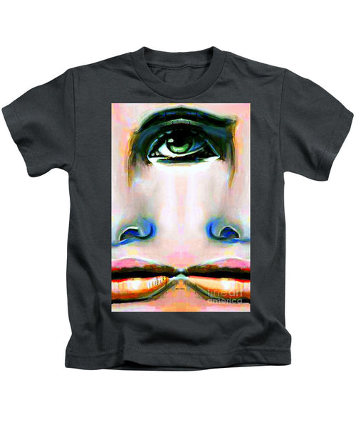 Kids T-Shirt - Two Faces Of A Coin