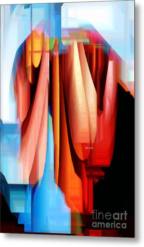 Metal Print - Untitled Abstract