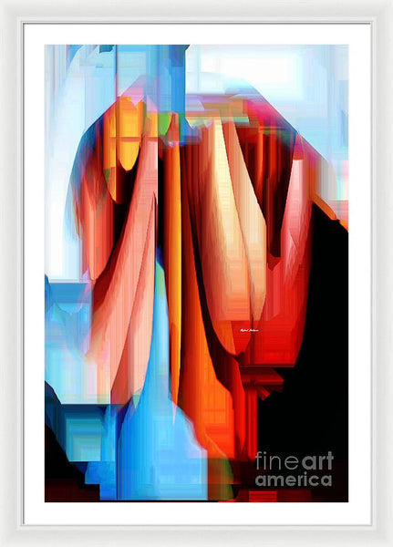 Framed Print - Untitled Abstract