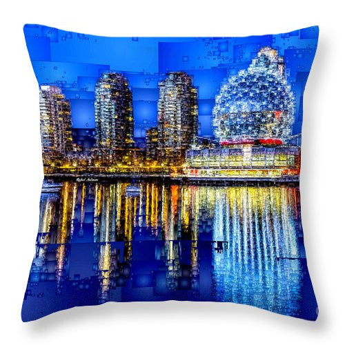 Throw Pillow - Vancouver British Columbia Canada