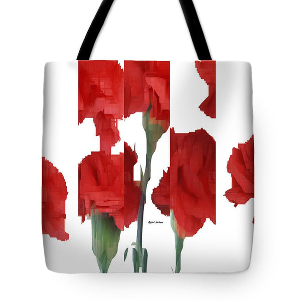 Tote Bag - Vertical Flowers