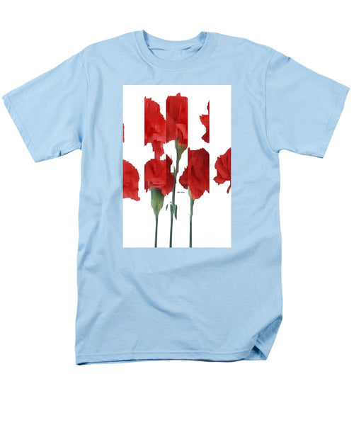 Men's T-Shirt  (Regular Fit) - Vertical Flowers