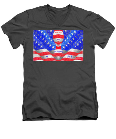Wake Up America - Men's V-Neck T-Shirt