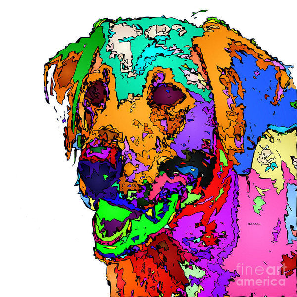 Art Print - Want To Go For A Walk. Pet Series