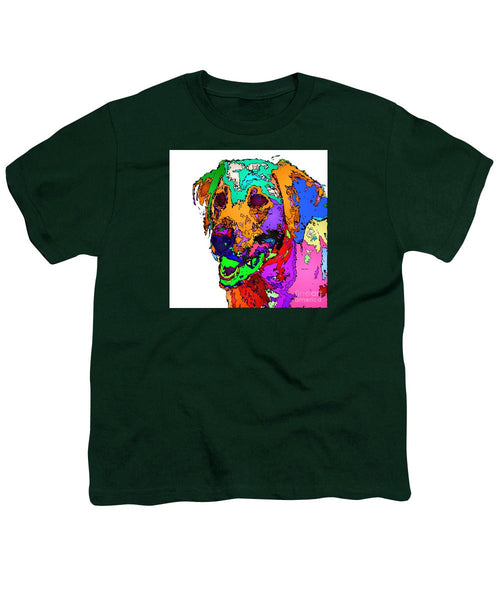 Youth T-Shirt - Want To Go For A Walk. Pet Series