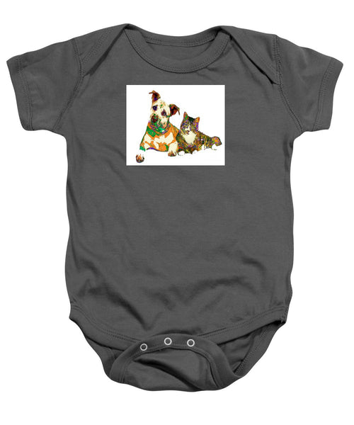 Baby Onesie - We Make People Happy For A Living. Pet Series