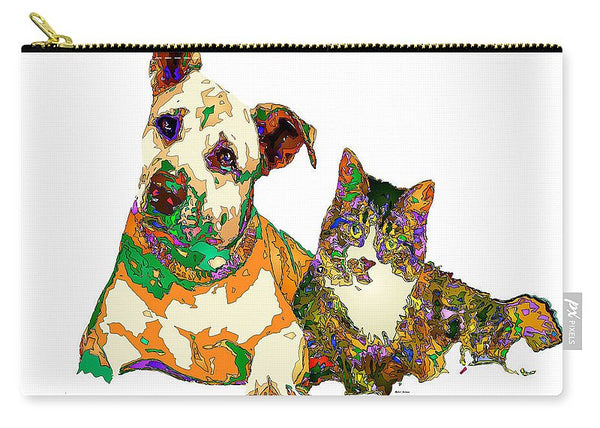 Carry-All Pouch - We Make People Happy For A Living. Pet Series