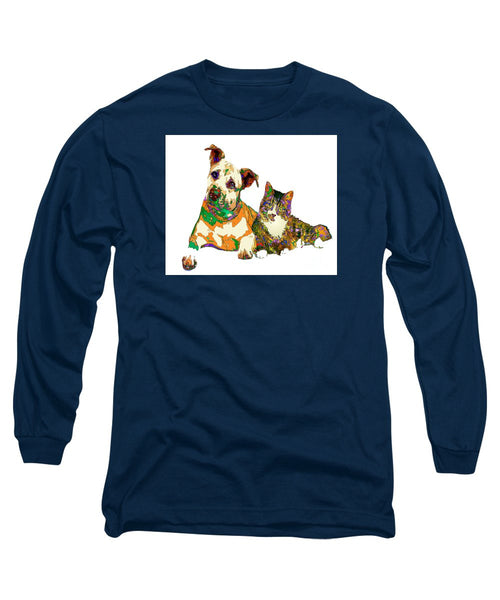 Long Sleeve T-Shirt - We Make People Happy For A Living. Pet Series