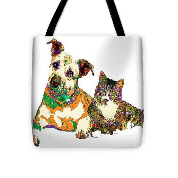 Tote Bag - We Make People Happy For A Living. Pet Series