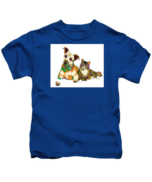 Kids T-Shirt - We Make People Happy For A Living. Pet Series