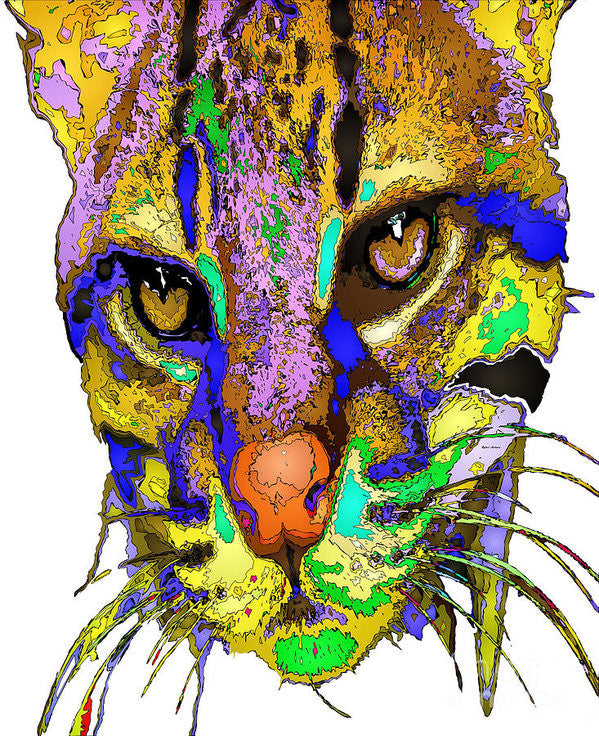Art Print - Whiskers. Pet Series