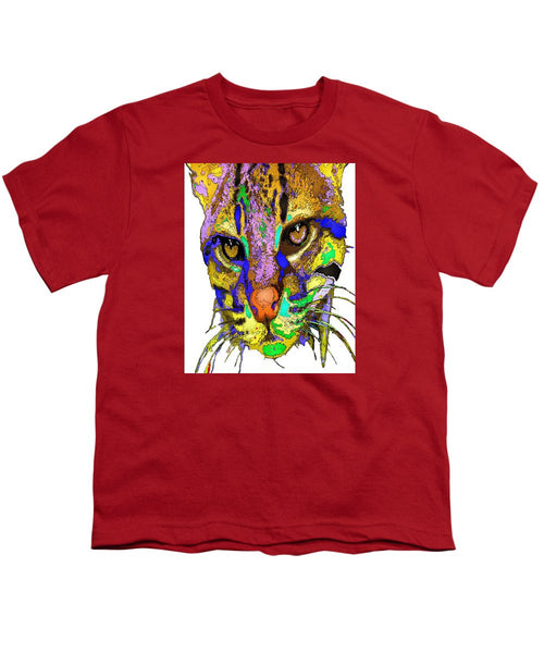 Youth T-Shirt - Whiskers. Pet Series