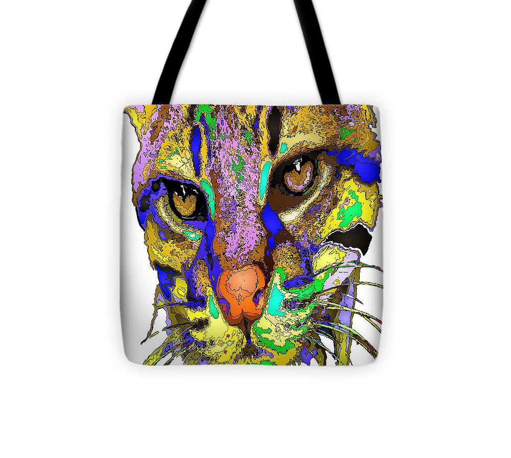 Tote Bag - Whiskers. Pet Series